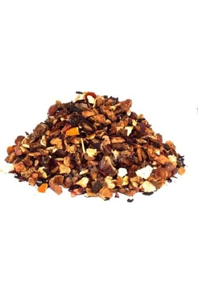 Hayat Şifa Merkezi Tropik Meyveli Karışık Bitki Çayı Kışlık Çay 200 gr Paketli Yeni Mahsül