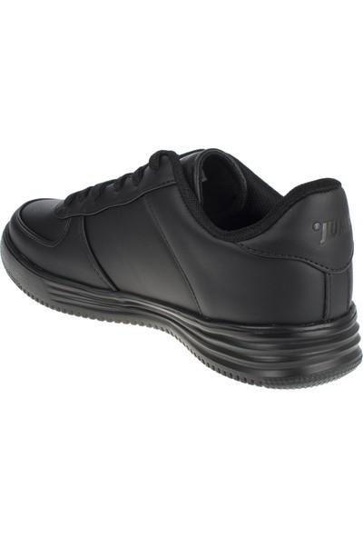 Jump 21516 Memory Foam Bağlı Siyah Kadın Spor Ayakkabı