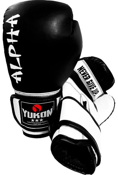 Yukon Alpha Kick Boks Eldiveni - Siyah