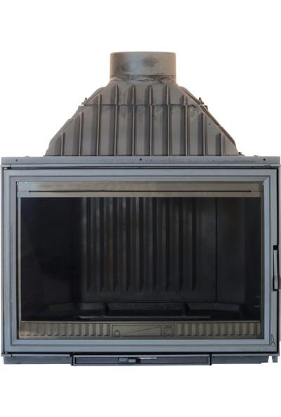 Diffusion C6 Model İthal 77 lik Döküm Şömine Haznesi