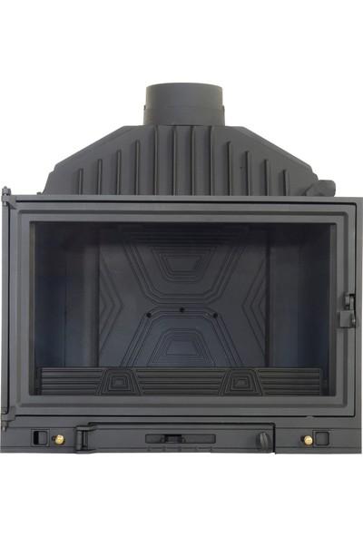 Dıffusıon Marka 84 luk Döküm B6-2 Model Şömine Haznesi
