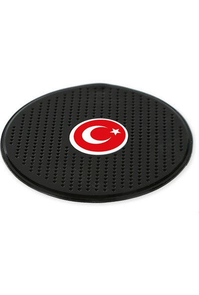 Oto Spot Araç İçi Kaydırmaz Ped Türk Bayrağı