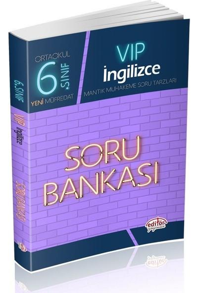 Editör Yayınları 6. Sınıf VIP İngilizce Soru Bankası