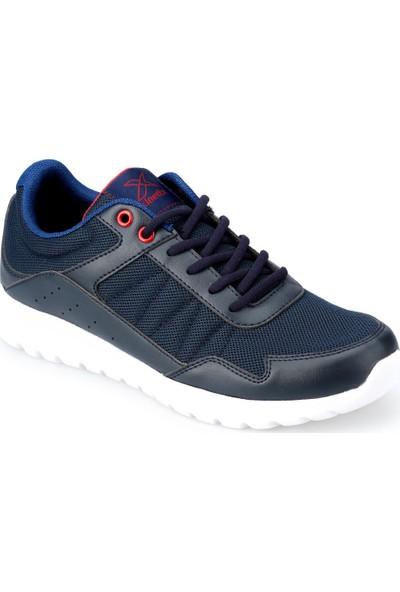 Kinetix Zen Lacivert Kırmızı Erkek Fitness Ayakkabısı