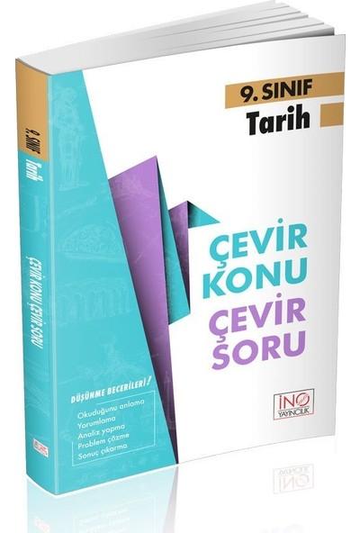 İnovasyon Yayınları 9. Sınıf Tarih Çevir Konu Çevir Soru