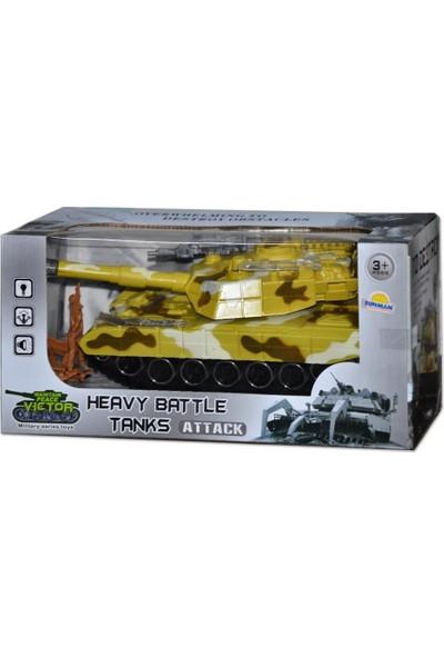 Sunman 2223 Asker Oyun Tank B/O Sesli
