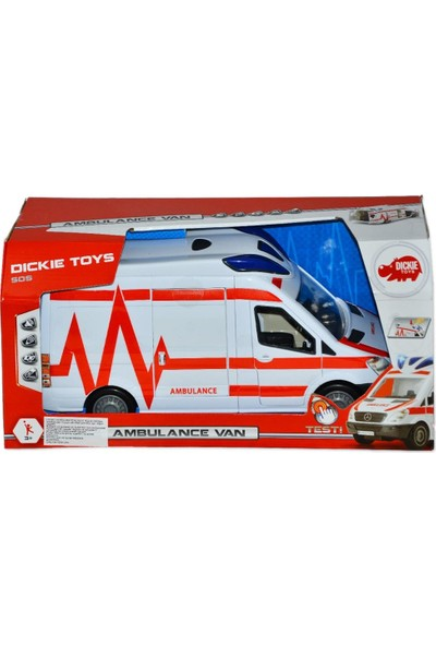 203716011 Ambulance Van