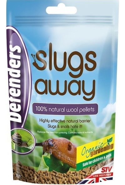 Defender'S Slugs Away Sümüklü Böcek Kovucu Pellet 1Lt