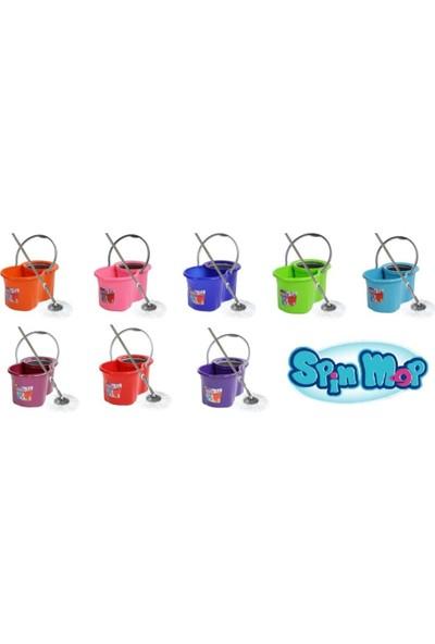 Spin Mop Mini Döner Başlıklı Temizlik Paspas Seti