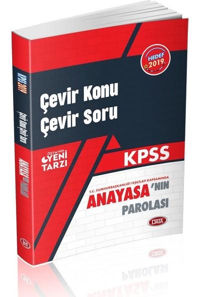 Data 2019 KPSS Anayasanın Parolası Çevir Konu