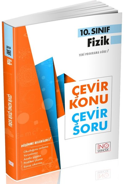 İnovasyon Yayınları 10. Sınıf Fizik Çevir Konu Çevir Soru