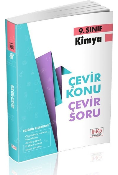 İnovasyon Yayınları 9. Sınıf Kimya Çevir Konu Çevir Soru