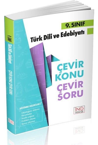 İnovasyon Yayınları 9. Sınıf Türk Dili ve Edebiyatı Çevir Konu Çevir Soru