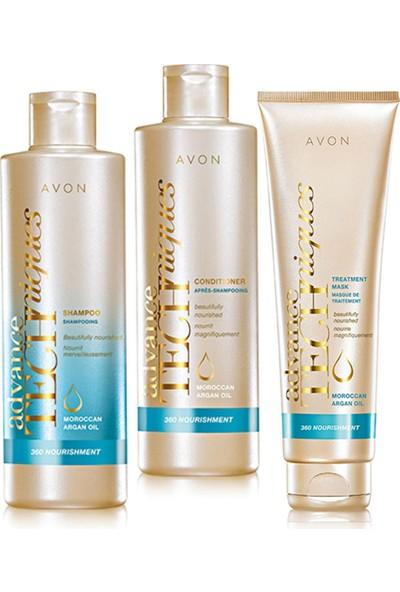 Avon Argan Yağı İçeren Besleyici Saç Bakım Seti