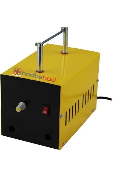 Büyük Rezistans Sıcaklık Ayarlı Etiket Kurdele Sıcak Kesim Makinası