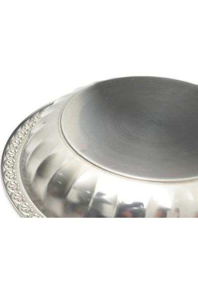Abant Çelik Meyve Tabağı No:2 - 27Cm