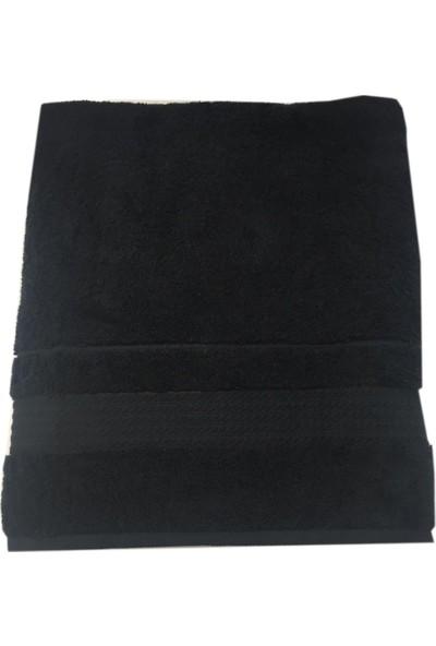 Özdilek Trendy Siyah Plaj Havlusu