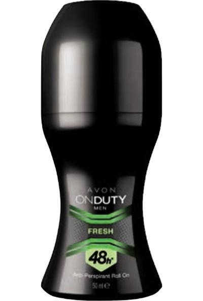 Avon OnDuty Fresh Erkek Rollon 50 ml
