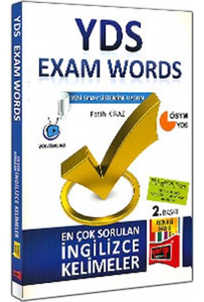 Yargı Yayınevi YDS Exam Words En Çok Sorulan İngilizce Kelimeler