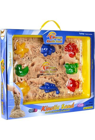 Eren Oyuncak Heroes Kinetik Kum 1000 gr Havuzlu 4 Renk