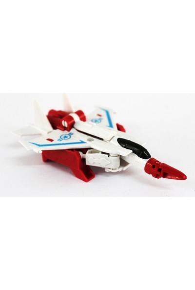 Erdem Transrobot Bıgwash Jet Uçağına Dönüşen Robot