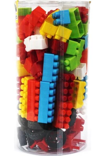 Deniz Oyuncak Dev Lego Seti 120 Parça Ev Ve Araba Malzemeli