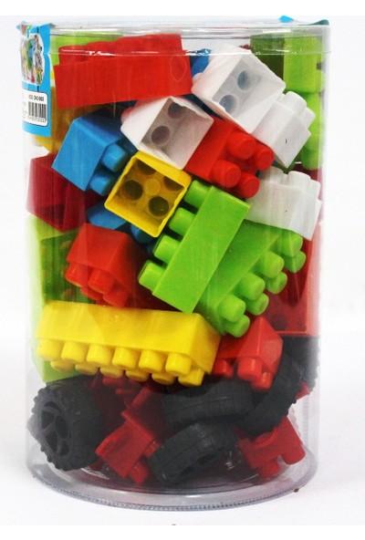 Deniz Oyuncak Lego Seti 72 Parça Ev Ve Araba Malzemeli