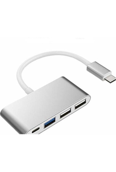 Azr Type-C To 3 Port USB 3.0 Çevirici Kablo
