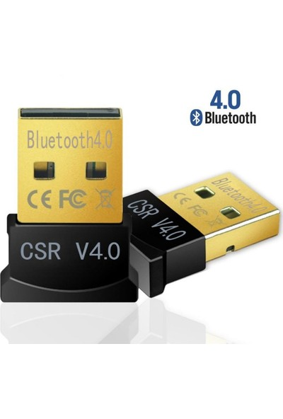 Blueway Bluetooth 4.0 Dongle Receiver Alıcısı USB 3.0 Tak & Çalıştır