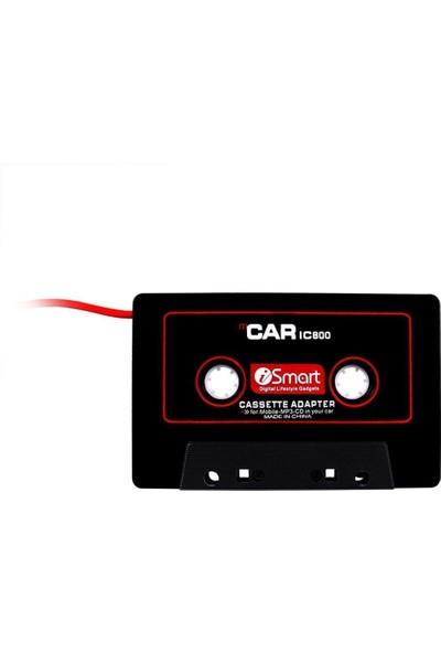 Blueway Kablolu Araç Oto Teyp Kaset Adaptörü Mp3 Mp4 CD Çalar Aux Player