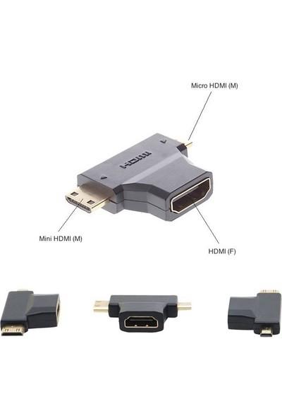 Blueway Mini - Micro HDMI Çevirici Dönüştürücü Adaptör