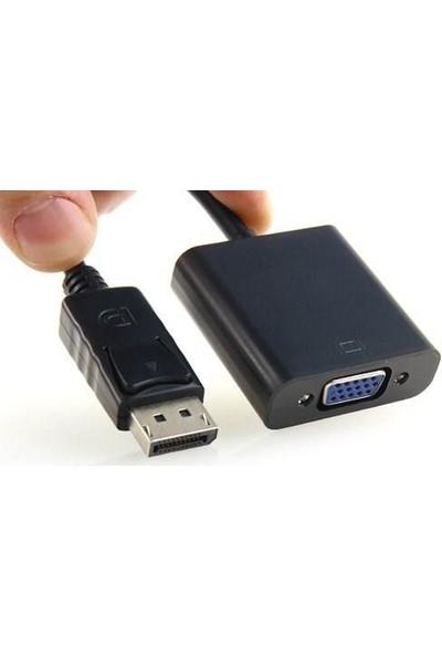 Blueway Display Port To VGA Çevirici Adaptör Projeksiyon Displayport