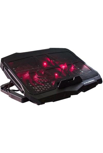 Blueway Laptop Notebook 4 Fanlı Ledli Soğutucu Fan