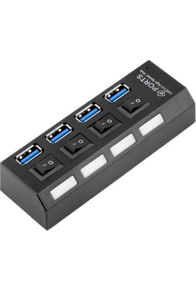 Blueway Very Speed 4 Port Hızlı USB 3.0 Çoğaltıcı Çoklayıcı HUB Switch