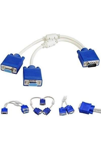 Blueway VGA Y Kablosu 5001P Çoğaltıcı Çoklayıcı Switch Dişi