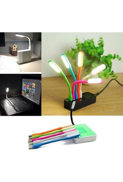 Blueway Taşınabilir Katlanabilir Parlak Işıklı Laptop Okuma USB Led Lamba
