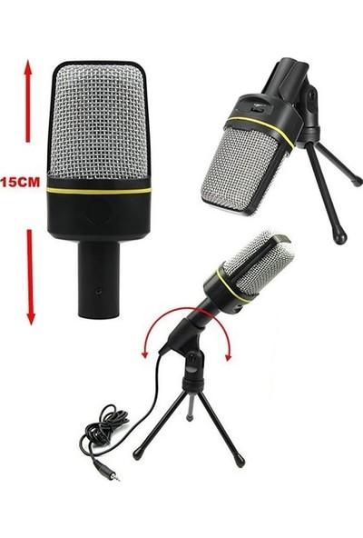 CoverZone SF-920 Portatif Masa Sehpalı Multimedya Kayıt Mikrofon Siyah