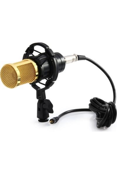 Gringo Shockmount Masa Standı Pop Filtre Stüdyo Youtuber Kayıt Mikrofonu