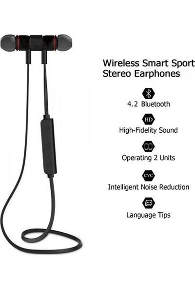 Platoon Pars Mıknatıslı Bluetooth Kulaklık Sport Headset