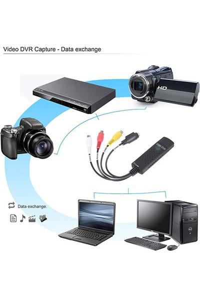Platoon PLH-001 USB Video Dvr Capture Kart Video Yakalama Kartı