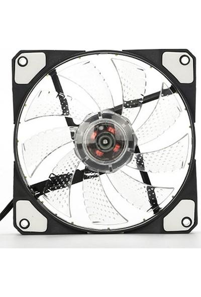 Platoon PNH-170 12V 12Cm Beyaz Işıklı Kasa İçi Fan