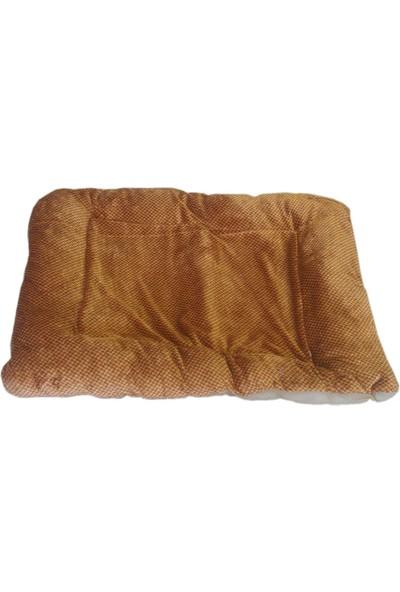 Yumuşak Kedi Köpek Yatağı 65 / 80 cm Desenli