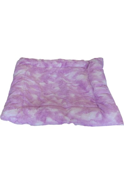 Yumuşak Kedi Köpek Yatağı 65 / 80 cm Koyu Pembe