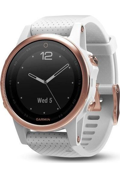 Garmin Fenix 5S Sapphire Rose Gold Akıllı Saat Beyaz