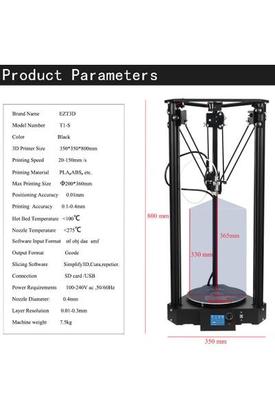 Panthercarver T1-S 3D Yazıcı/Printer Tak Çalıştır