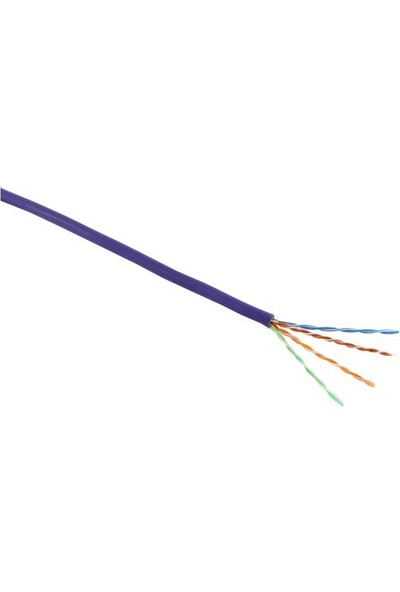 Excel 100-066 Cat5E Cable U/Utp Dca LS0H 305M Box - Violet