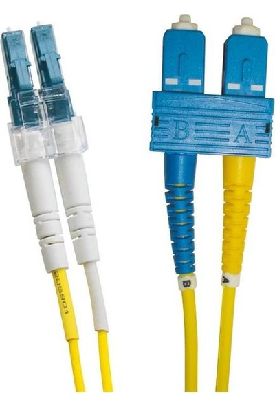 Excel 200-692 Enbeam OS2 Fibre Optic Patch Lead LC-SC Singlemode