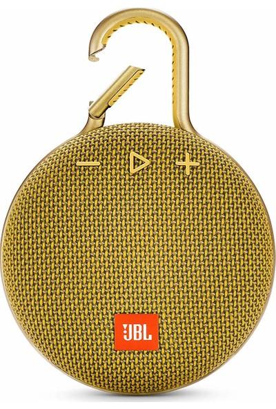 JBL Clip3 IPX7 Su Geçirmez Taşınabilir Bluetooth Hoparlör Sarı