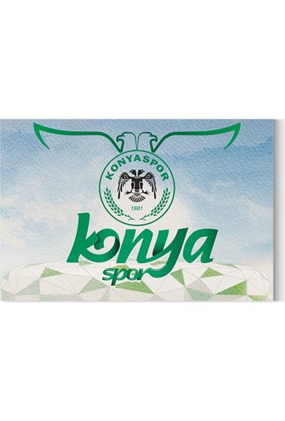 Desenlio Konyaspor Kanvas Tablo