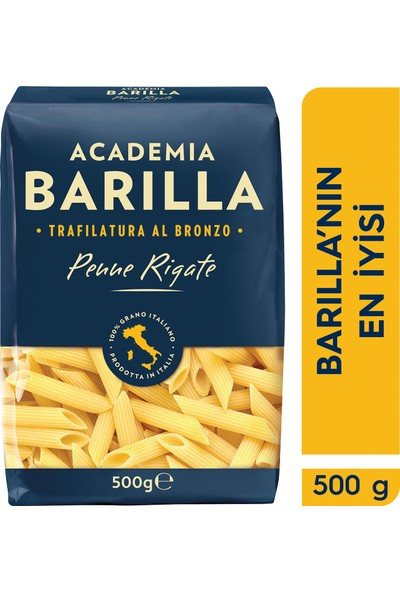 Academia Barilla Kalem / Penne Rigate Sade Makarna 500 gr
